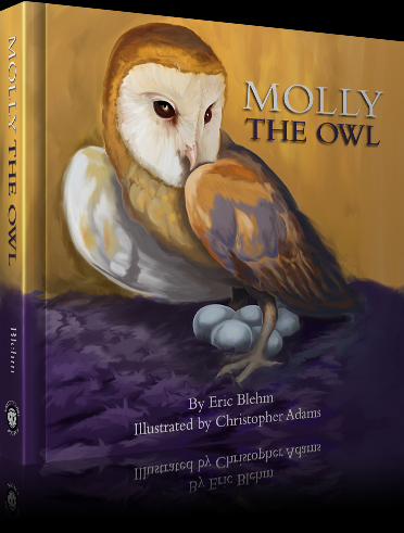 Molly The Owl Book Hardcover