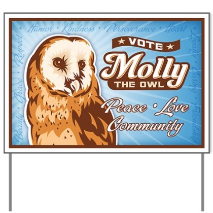 Vote Molly Bird of the Year